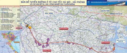 Hanoi Hai Phong Expressway Project